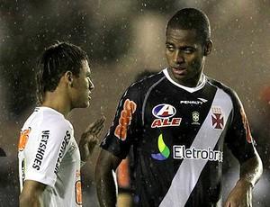 Dedé Neymar chamada Arena (Foto: Marcelo Sadio / Site Oficial do vasco)