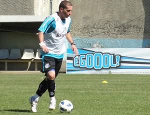 Fábio Rochemback, do Grêmio (Foto: Eduardo Cecconi/Globoesporte.com)