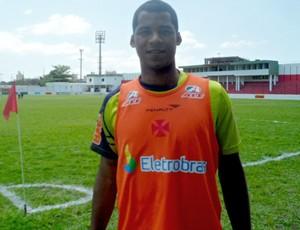 Renato Silva no treino do Vasco (Foto: Mariana Kneipp/Globoesporte.com)