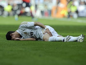 di maria real madrid x ossassuna (Foto: AFP)