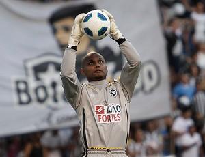 jefferson botafogo x figueirense (Foto: Agência Estado)
