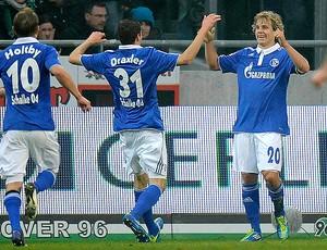 pukki Hannover 96 x Schalke 04 (Foto: AP)