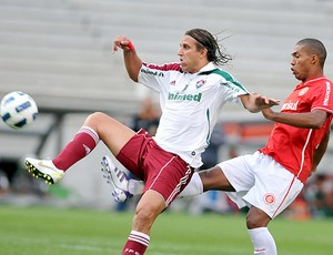 Rafael Moura Fluminense x Internacional (Foto: Photocâmera)