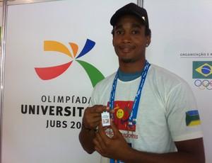 Atleta do Amapá nas Olimpíadas Universitárias 2011, em Campinas, interior de São Paulo (Foto: Thiago Correia / Globoesporte.com)