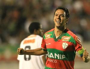 Marco Antônio gol Portuguesa (Foto: Ag. Estado)