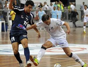 Santos, de Ricardinho, empata com o Florianópolis e está na final da Liga Futsal (Foto: Divulgação/Santos FC)