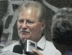 Rubens Bohlen, novo presidente do Paraná Clube (Foto: Fernando Freire/Globoesporte.com)