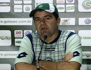 enderson moreira técnico do goiás (Foto: Reprodução/TV Anhanguera)