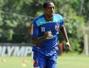 Renato no treino do Flamengo (Foto: Alexandre Vidal / Fla Imagem)