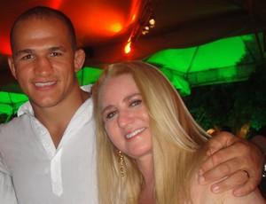 Mulheres do MMA Vilsana, esposa do Cigano (Foto: Arquivo Pessoal)