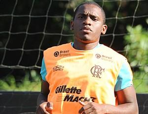 Willians no treino do Flamengo (Foto: Alexandre Vidal/Fla Imagem)