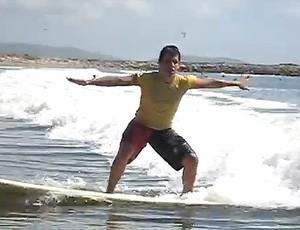 MAtheus Rheine natação PArapan surfe (Foto: Luciana Vermell / CPB)