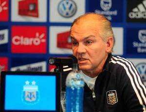 Alejandro Sabella técnico Argentina (Foto: Divulgação / AFA)