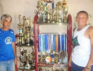 Valter dias e Lourival Gomes, companheiros de longas distâncias (Foto: Hismênia Keller/GloboEsporte.com)