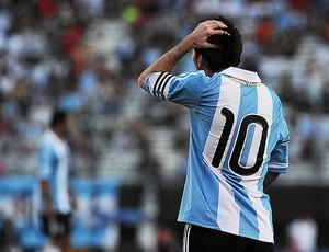 messi argentina x bolivia (Foto: AFP)