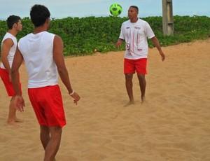 seleção paulista futebol de areia (Foto: CBBS)