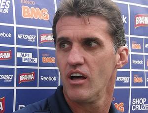 Vágner Mancini, técnico do Cruzeiro (Foto: Fernando Martins/Globoesporte.com)
