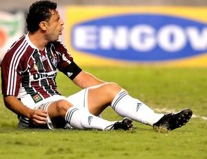 Fred na partida do Fluminense contra o América-MG (Foto: Agência Photocâmera)