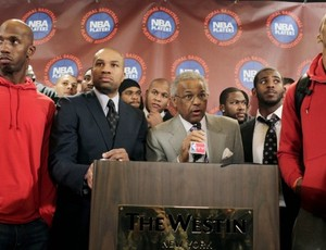 Billy Hunter NBA sindicato jogadores locaute (Foto: AP)