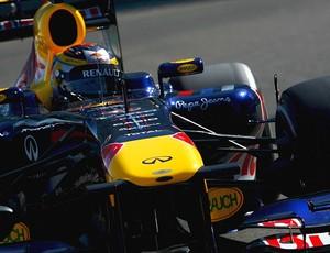 Jean-Eric Vergne, piloto de testes da RBR em Abu Dhabi (Foto: Getty Images)