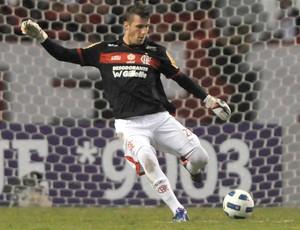Paulo Victor, Flamengo x Figueirense (Foto: Alexandre Loureiro/Vipcomm)