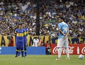 1 minuto de silêncio Boca Juniors (Foto: EFE)