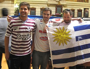 uruguaios loco abreu botafogo (Foto: Thales Soares/GLOBOESPORTE.COM)