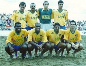 Neném, Zico, Júnior, Paulo Sérgio, Magal (Foto: Arquivo Pessoal)