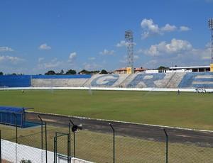 Estádio do Catanduvense passa por reformas para estreia no Paulistão (Foto: Divulgação/Catanduvense)