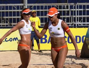 Juliana e Larissa são penta no Circuito Brasileiro (Foto: Gladys Fonseca / CBV)