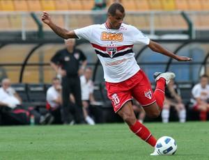 Jogo contra o Palmeiras foi o último de  Rivaldo pelo São Paulo (Foto: Vipcomm)