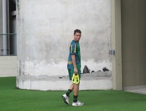 Caio botafogo treino (Foto: Thiago Fernandes / Globoesporte.com)