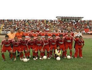 Jogadores do Princesa do Solimões de 2011 (Foto:  Divulgação Orlando Lacanna)