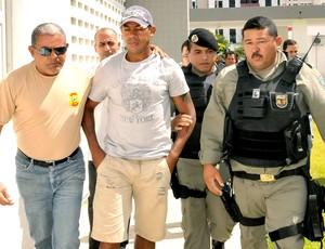Marcelinho Paraíba preso  (Foto: Futura Press)