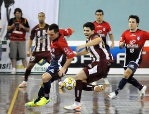 Taça Brasil de Futsal Joinville x Orlândia final 3 (Foto: Luciano Bergamaschi / CBFS)
