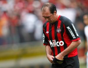 paulo baier michel ATLÉTICO-PR X coritiba (Foto: Agência Estado)