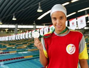 Gabriela Mello, Colégio Amorim (SP), natação Olimpíadas Escolares em Curitiba (PR) (Foto: Wagner Carmo / Inovafoto)