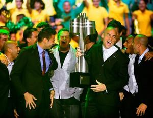 corinthians festa taça prêmio craque do brasileirão (Foto: Marcos Ribolli/GLOBOESPORTE.COM)