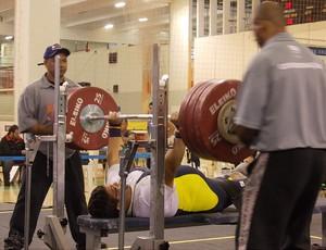 Rodrigo Rosa, ouro no Circuito Brasil Paraolímpico (Foto: Divulgação/ CDDU - Futel)