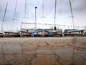 vela barcos mundial de perth (Foto: Divulgação)