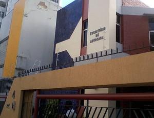 escritório de advocacia do bahia (Foto: Eric Luis Carvalho/Globoesporte.com)