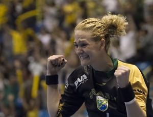Mundial de handebol Chana na partida Brasil x França (Foto: Cinara Piccolo / Photo&Grafia)