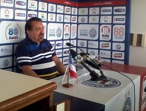 paulo angioni diretor de futebol do bahia (Foto: Eric Luis Carvalho/Globoesporte.com)
