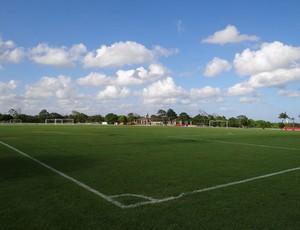 CT do Sport custou R$ 2 milhões e recebe investimento de R$ 16 milhões (Foto: Elton de Castro/GLOBOESPORTE.COM)