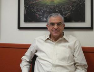 Mario Celso Petraglia, candidato à presidência do Atlético-PR (Foto: Fernando Freire/GLOBOESPORTE.COM)