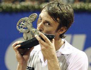 Juan Carlos Ferrero tênis Brasil Open 2010 (Foto: Koch Tavares/Divulgação)