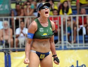 Maria Elisa na etapa de Fortaleza (Foto: Divulgação/CBV)