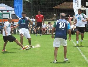 Emerson Sheik e Fabio Luciano no Desafio das Estrelas (Foto: Rafael Cavalieri/Globoesporte.com)