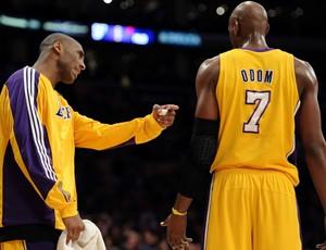 NBA Kobe Bryant Lamar Odom Lakers (Foto: Getty )
