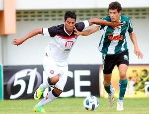 Vitória e Coritiba se enfrentam pelo Brasileiro Sub-20 (Foto: Marcelo Campos/Fed. Gaúcha de Futebol)